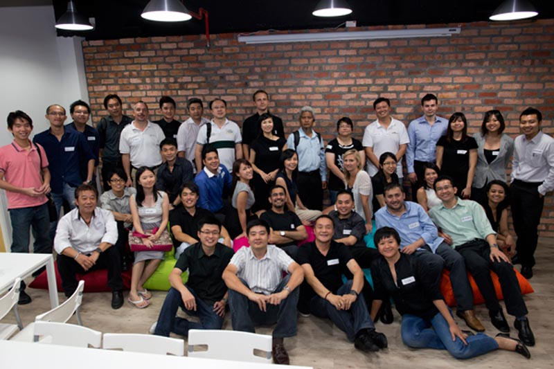 Course participants at the Google Business Group Malaysia seminar