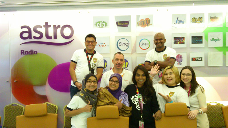 Course participants from Astro Radio