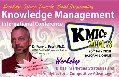 9th Knowledge Management International Conference