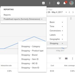Google AdWords New Interface-Reporting Tab