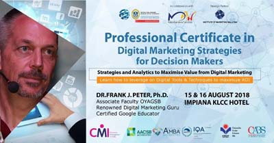 Professional Certification in Digital Marketing Strategies for Decision Makers